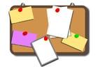 Imagen tablón de notas