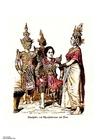 Imagen Tailandeses bailando en el siglo XIX