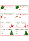Imagen tarjetas de regalo de navidad