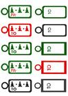 Imagen tarjetas para regalos de navidad