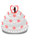 Imagen tarta de boda