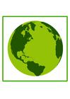 Imagen tierra ecológica
