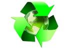 Imagen tierra-reciclar