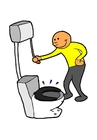 Imagen Tirar de la cisterna
