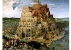 Imagen Torre de babel por Pierre Bruegel el viejo