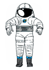 Imagen traje de astronauta