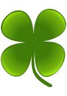 Imagen trébol de cuatro hojas