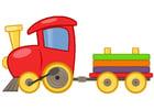 Imagen tren de juguete