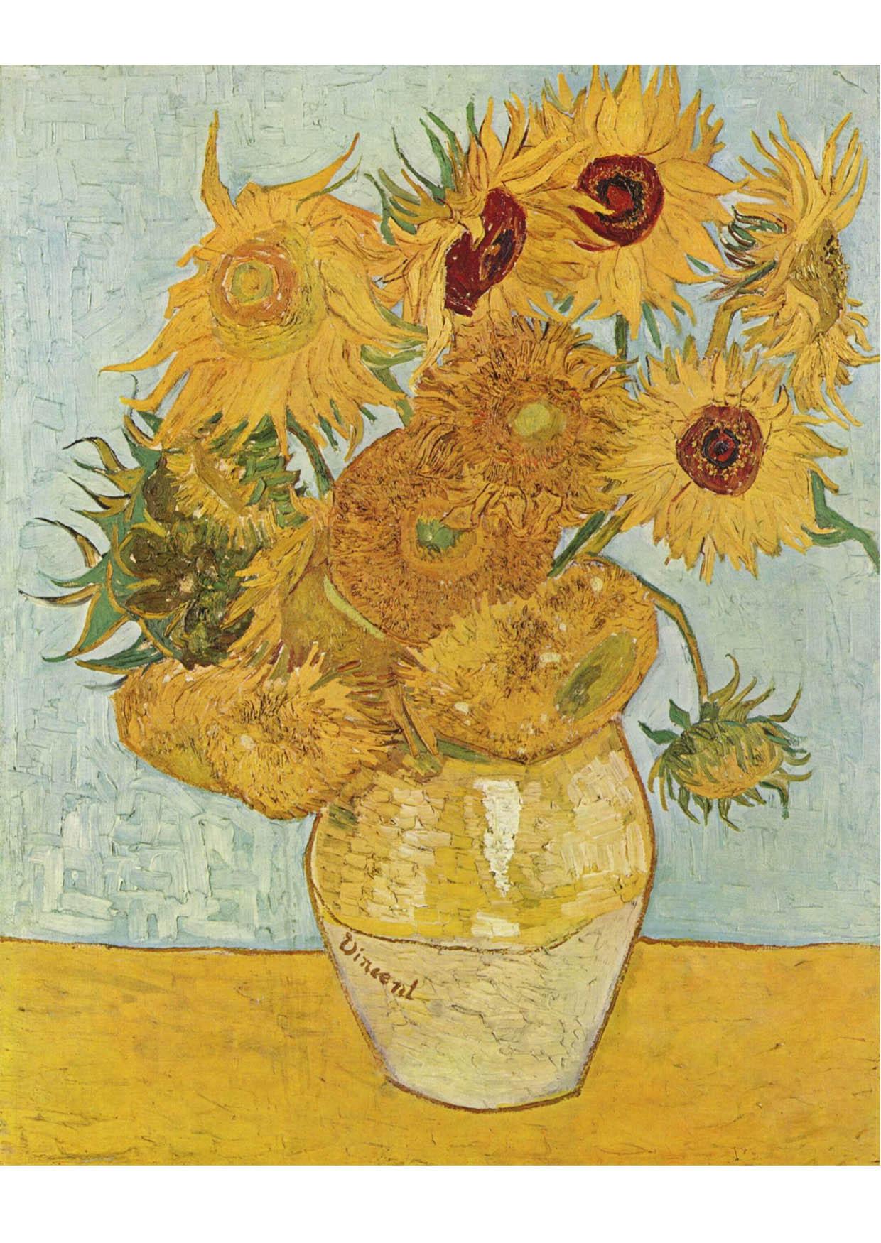 Imagen Vincent Van Gogh - Los girasoles - Img 17055