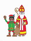 Imagen Zwarte Piet y San Nicolás