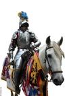 Foto Caballero a caballo