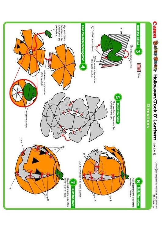 Manualidades calabaza manualidades y bricolaje para ni os 15338 - Manualidades y bricolaje ...