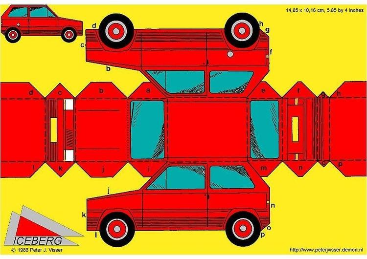 Descargar 1024x1024 Coches Vehículos Automóviles: Manualidades Coche. Manualidades Y Bricolaje Para Niños