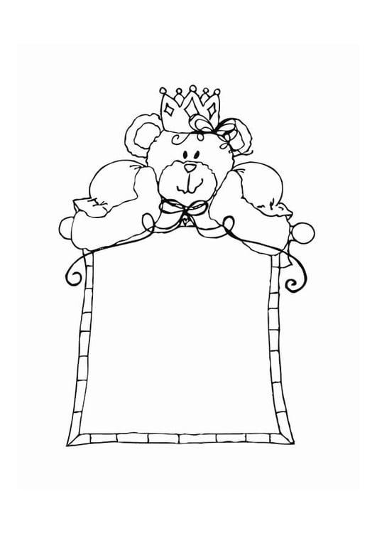 Manualidades Marco con osito. Manualidades y bricolaje para niños ...