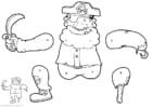 Manualidades Marioneta de pirata
