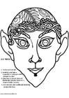 Manualidades Máscara de elfo