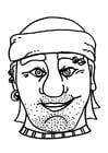 Manualidades Máscara de pirata / Bribón