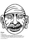 Manualidades Máscara de pirata