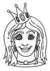 Manualidades Máscara de princesa