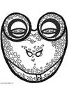 Manualidades Máscara de rana