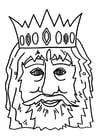 Manualidades Máscara de rey