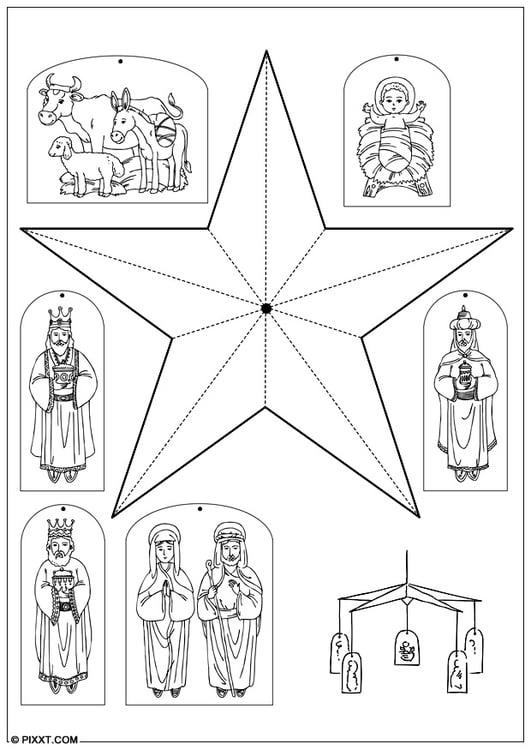 Manualidades m vil de navidad manualidades y bricolaje - Trabajos manuales de navidad para ninos de primaria ...