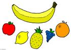 Manualidades Móvil - Frutas