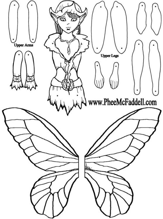 Manualidades Muñeca de niño elfo. Manualidades y bricolaje para ...