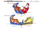 Manualidades Postal de navidad